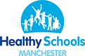 Healthy Schools Manchester logo