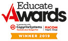 Educate Awards Winner 2019 logo