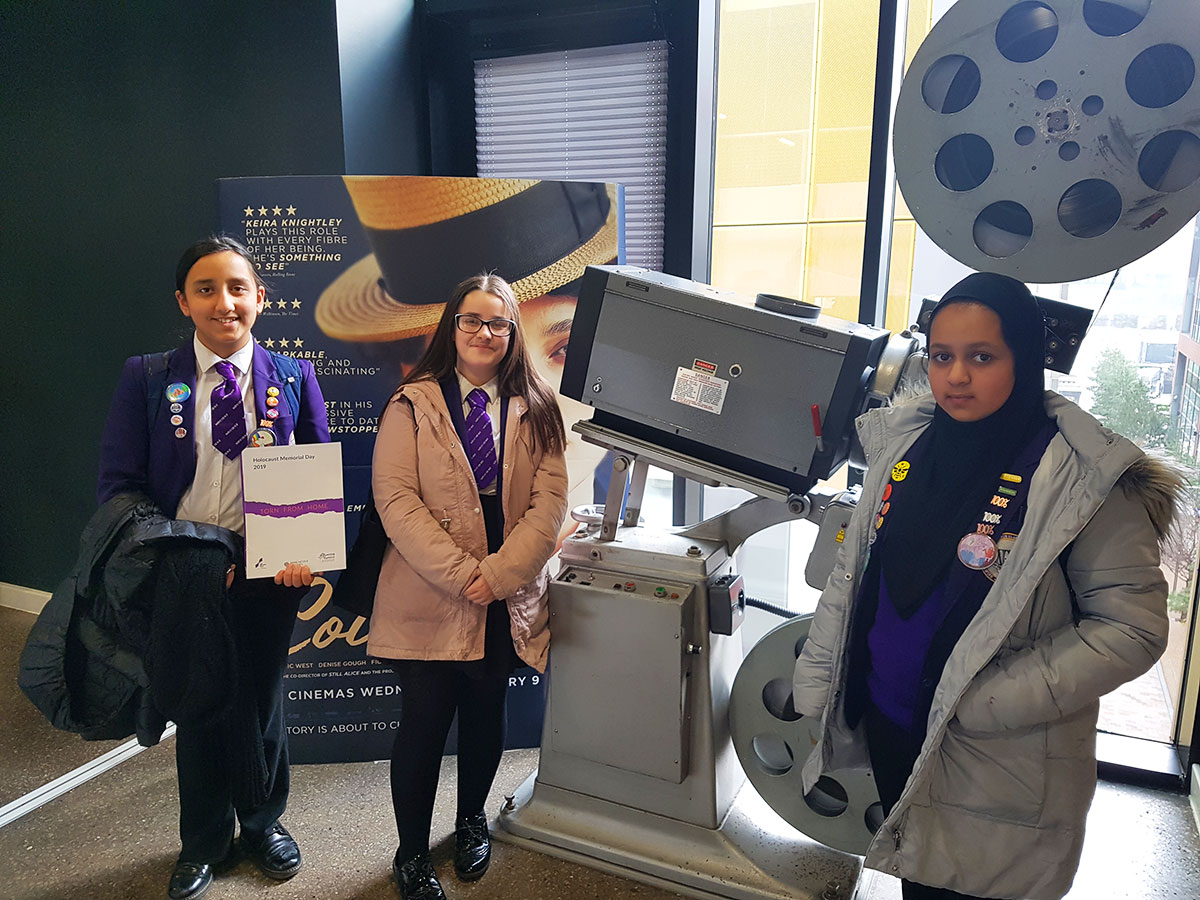 Global Awareness Leaders at HOME Theatre for the Holocaust Memorial Day 2019