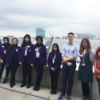 Whalley Range students at Ernst & Young in Manchester