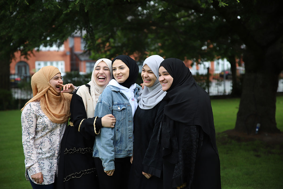 Students celebrate their fantastic results on A Level Results Day 2019